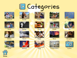 Write about this categories