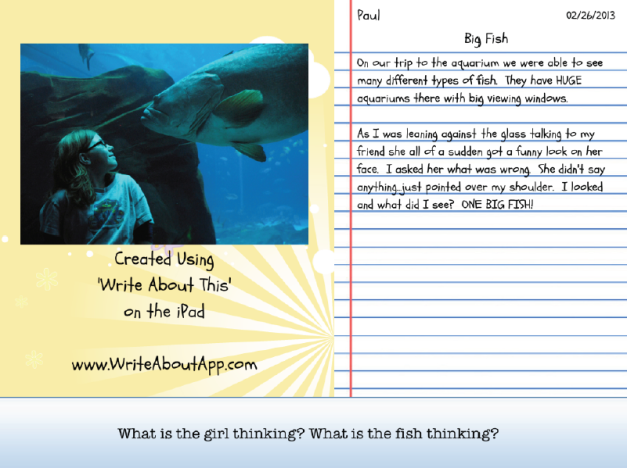write about this example